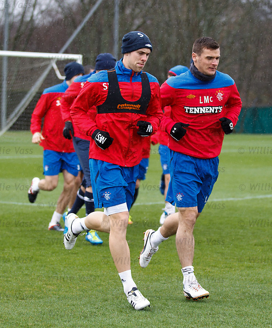 Steven Whittaker and Lee McCulloch