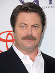 Nick Offerman attends The 21st Annual Environmental Media Awards held at at Warner Bros. Studios in Burbank, California on October 15,2011                                                                               © 2011 DVS / Hollywood Press Agency