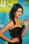 Nina Dobrev - The Vampire Diaries at The CW Upfront 2010 green carpet arrivals on May 20, 2010 at Madison Square Gardens, New York, New York. (Photo by Sue Coflin/Max Photos)