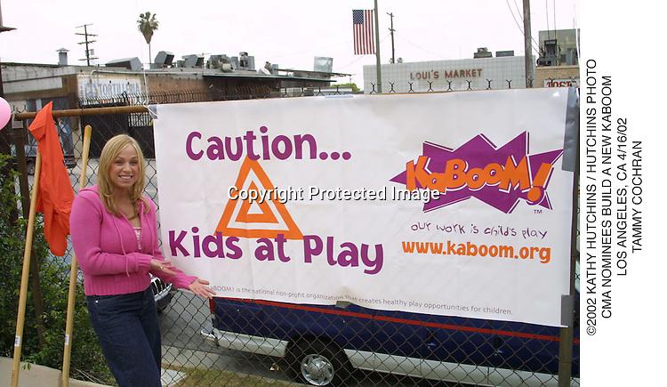 ©2002 KATHY HUTCHINS / HUTCHINS PHOTO.CMA NOMINEES BUILD A NEW KABOOM.LOS ANGELES, CA 4/16/02.TAMMY COCHRAN