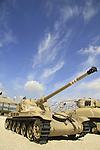 Israel, Shephelah,  AMX 13 tank at the Armored Corps Memorial Site and Museum in Latrun