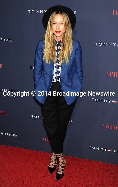 Pictured: Gillian Zinser<br /> Mandatory Credit &copy; Gilbert Flores/Broadimage<br /> Tommy Hilfiger and Vanity Fair Celebrate the the To Tommy from Zooey Collaboration wth Zooey Deschanel<br /> <br /> 4/9/14, West Hollywood, California, United States of America<br /> <br /> Broadimage Newswire<br /> Los Angeles 1+  (310) 301-1027<br /> New York      1+  (646) 827-9134<br /> sales@broadimage.com<br /> http://www.broadimage.com