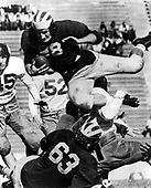Tom Harmon diving over line