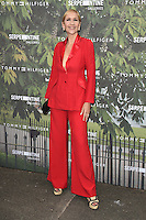 Tania Bryer<br /> arrives for the Serpentine Gallery Summer Party 2016, Hyde Park, London.<br /> <br /> <br /> ©Ash Knotek  D3138  06/07/2016