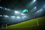 19.12.2017, Veltins-Arena , Gelsenkirchen, GER, DFB Pokal Achtelfinale, FC Schalke 04 vs 1. FC K&ouml;ln<br /> , <br /> <br /> im Bild | pictures shows:<br /> Veltins Arena mit Anzeigetafel und Endstand 1:0, <br /> <br /> Foto &copy; nordphoto / Rauch