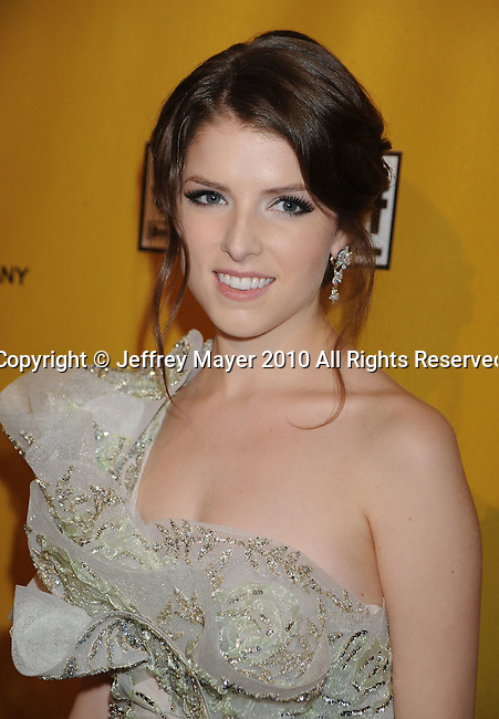 BEVERLY HILLS, CA. - January 17: Anna Kendrick arrives at The Weinstein Company 2010 Golden Globe After Party at The Beverly Hilton Hotel on January 17, 2010 in Beverly Hills, California.
