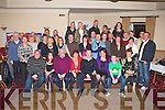 30TH BIRTHDAY: Ken Cronin, Ballinorig (seated centre) with his wife Sharon and son Kyle enjoying a great time celebrating his 30th birthday with a large group of family and friends at the Strand Road clubhouse on Saturday.