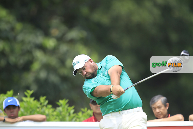 Brendan De Jonge (ZIM) on the 7th tee during Round 4 of the CIMB Classic in the Kuala Lumpur Golf &amp; Country Club on Sunday 2nd November 2014.<br /> Picture:  Thos Caffrey / www.golffile.ie
