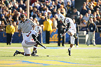 2 December 2006: Brandon Harrison and Derek Belch during Stanford's 26-17 loss to Cal in the 109th Big Game at Memorial Stadium in Berkeley, CA.