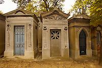 Paris France - Pere Lachaise - cemetery