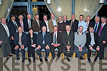 Members of the Lee Strand Board pictured at their AGM in the Ballyroe Heights Hotel on Friday night. Sitting l/r John Joe O'Connor, Veronica Kennelly, General Manager Bill Kennedy, Chairman Brendan Walsh, Vice Chairman Ted Horgan, Donal Pierse and Tim O'Keefe. Standing l/r John Daly, Patsie McQuinn, David Nolan, Michael Savage, Mike Mangan, Tommy Moynihan, Gerard Collins, Pat McKenna, Jerry Dwyer, John Sayers, Shane Crean, Jerry McMahon, John Savage and Ken Jones, missing from the photo are John Foley and Tommy Culloty...................................................................... ............   Copyright Kerry's Eye 2008