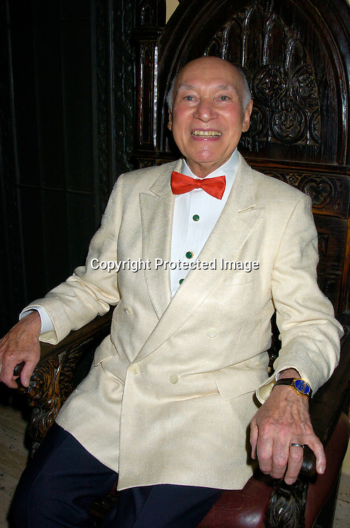 George Lang ..at George Lang's 80th Birthday at Cafe des Artistes on ..June 15, 2004 in New York City. City Meals-on-..Wheels and City Harvest are benefiting from the evening. ..George Lang owns Cafe des Artistes. ..Photo by Robin Platzer, Twin Images