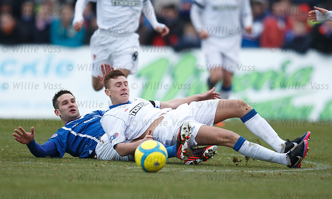 Lewis MacLeod and Dean Cowie