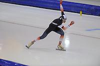 SCHAATSEN: HEERENVEEN: 14-12-2014, IJsstadion Thialf, ISU World Cup Speedskating, Alexis Contin (FRA), ©foto Martin de Jong