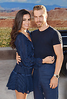 "WESTWOOD, CA - OCTOBER 07: Hayley Erbert and Derek Hough attend the premiere of Netflix's ""El Camino: A Breaking Bad Movie"" at Regency Village Theatre on October 07, 2019 in Westwood, California..<br /> CAP/ROT/TM<br /> ©TM/ROT/Capital Pictures"