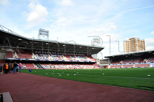 29.10.2011. London England.  Upton Park before the Npower Championship Football Association match between West Ham and Leicester City Upton Park London . Mandatory Credit: Actionplus