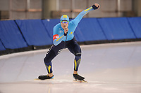 SPEEDSKATING: SALT LAKE CITY: 06-12-2017, Utah Olympic Oval, ISU World Cup, training, Artyom Krikunov (KAZ), photo Martin de Jong