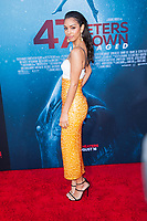 Los Angeles, CA - AUGUST 13th: <br /> Corinne Foxx attends the 47 Meters Down: Uncaged premiere at the Regency Village Theater on August 13th 2019. Credit: Tony Forte/MediaPunch