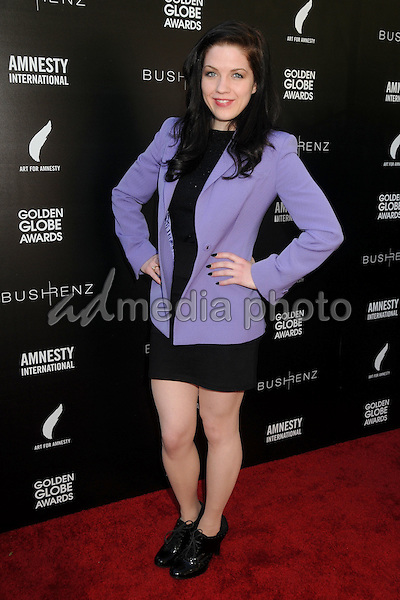 8 January 2016 - West Hollywood, California - Lexie Rich. 1st Annual Art for Amnesty Pre-Golden Globes Brunch held at Chateau Marmont. Photo Credit: Byron Purvis/AdMedia