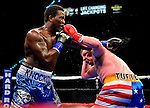 HOLLYWOOD, FL - SEPTEMBER 05: Terell Jamal Woods (L), fight Joshua Tufte during the World Heavyweight Champions Fight Night at Hard Rock Live! in the Seminole Hard Rock Hotel & Casino on September 5, 2015 in Hollywood, Florida. Briggs won the bout by second round KO. ( Photo by Johnny Louis / jlnphotography.com )