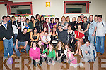 18TH BIRTHDAY: Anne Fitzgerald, Oakpark (seated centre), having a great time with friends and family at her 18th birthday party held in the John Mitchels GAA Ccubhouse on Saturday night.   Copyright Kerry's Eye 2008