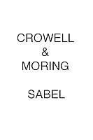 Crowell & Moring SABEL