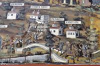 BG51499.JPG BULGARIA, BATCHKOVO MONASTERY, Refectory, 1601, frescoes