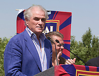 Real Madid President Ramón Calderón  at the Real Salt Lake Stadium Ground Breaking Ceremony in Sandy, Utah August 12, 2006