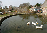 BNPS.co.uk (01202 558833)<br /> Pic: PhilYeomans/BNPS<br />  <br /> The picturesque village on the Jurrassic coast is a magnet for second home owners.<br /> <br /> Nine discounted homes have been built in one of the worst areas of the country for affordable housing, bringing fresh hope to local first-time buyers.<br /> <br /> The properties are being offered for sale at 75 per cent of the market price with a strict covenant in place that they can only be sold locals.<br /> <br /> And when the time comes for the owners to sell them on, the asking price must also be 25 per cent less than their true value.<br /> <br /> The properties have been built in the so-called ghost village village of Worth Matravers on the picturesque Isle of Purbeck in Dorset.<br /> <br /> Sixty per cent of the 180 houses in the village belong to second homeowners and lay empty most of the time.