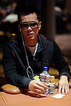 Nam Le in the last level of play on Day 2.