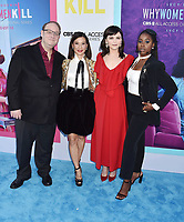 """BEVERLY HILLS, CA - AUGUST 07: (L-R) Marc Cherry, Lucy Liu, Ginnifer Goodwin and Kirby Howell-Baptiste attend the LA Premiere of CBS All Access' """"Why Women Kill"""" at Wallis Annenberg Center for the Performing Arts on August 07, 2019 in Beverly Hills, California.<br /> CAP/ROT<br /> ©ROT/Capital Pictures"""