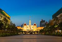 Square Near Ho Chi Minh City Hall