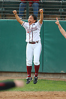 6 March 2008: Stanford Cardinal Tricia Aggabao during Stanford's 2-1 win against the Campbell Fighting Camels at the Boyd & Jill Smith Family Stadium in Stanford, CA.