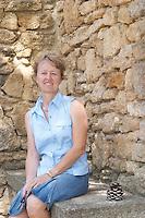 Genevieve Quiot owner domaine du vieux lazaret chateauneuf du pape rhone france