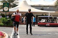 28th November 2019; Yas Marina Circuit, Abu Dhabi, United Arab Emirates; Formula 1 Abu Dhabi Grand Prix, arrivals day; Alfa Romeo Racing, Kimi Raikkonen - Editorial Use