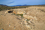 Los Millares prehistoric Chalcolithic settlement archaelogical site, Almeria, Spain