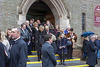 Tommy McEvoy, Old time boxing Champ, Funeral, Sacred Heart and Holy Souls Catholic Church, Acocks Green, Birmingham, 13th Feb 2015