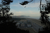 Pacific coast, San Francisco, as seen from Sutro Heights