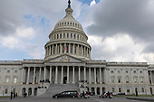 A hearse carrying the casket of late Senator John McCain, Republican of Arizona, arrives at the United States Capitol in Washington, DC on August 31, 2018 in Washington, DC. McCain, a United States Military veteran and longtime Senator, will lay in state inside the Capitol Rotunda for one day prior to being laid to rest on September 1, 2018 at the United States Naval Academy in Annapolis, Maryland. Credit: Alex Edelman / CNP