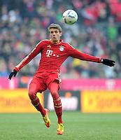 FUSSBALL   1. BUNDESLIGA  SAISON 2011/2012   21. Spieltag FC Bayern Muenchen - 1. FC Kaiserslautern       11.02.2012 Thomas Mueller (FC Bayern Muenchen)