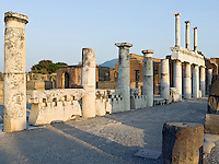 Italy, Campania, Pompei, Archeological site, Roman excavation