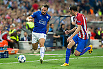 Danny Drinkwater of Leicester City Football Club during the match of  Champions LEague between  Atletico de Madrid and LEicester City Football Club at Vicente Calderon  Stadium  in Madrid, Spain. April 12, 2017. (ALTERPHOTOS / Rodrigo Jimenez)