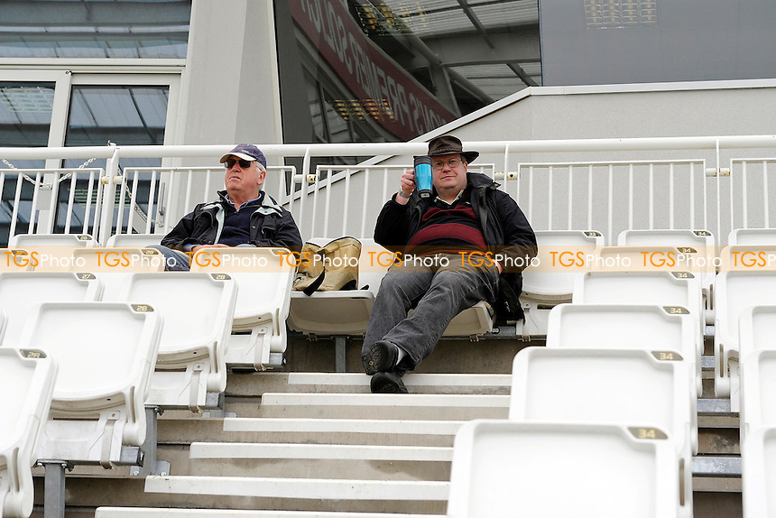 Spectators in good mood as they wait for play -Hampshire CCC vs Worcestershire CCC - LV County  Championship Cricket Match at the Ageas Bowl, Hampshire - 06/04/14 - MANDATORY CREDIT: Denis Murphy/TGSPHOTO - Self billing applies where appropriate - 0845 094 6026 - contact@tgsphoto.co.uk - NO UNPAID USE