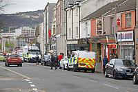 2020 05 16 Police at St Helen's Road in Swansea, Wales, UK.