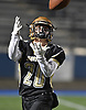 Tom von Bargen #20 of Wantagh catches a pass for a touchdown during the fourth quarter of the Nassau County football Conference III semifinals against South Side Shuart Stadium in Hempstead on Saturday, Nov. 10, 2018.