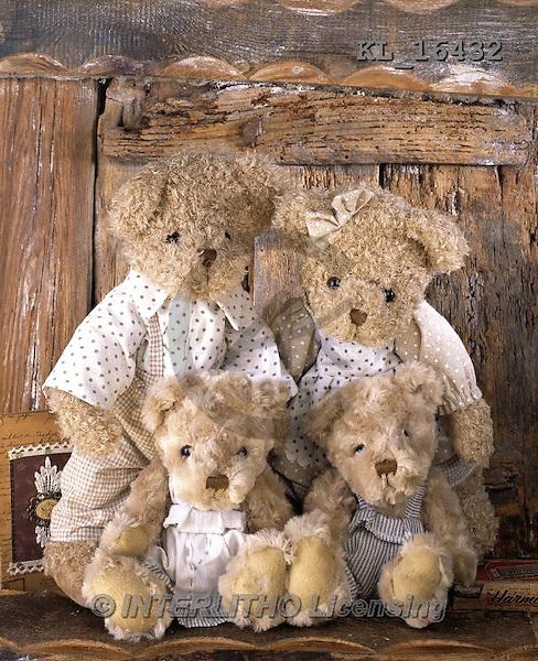 Interlitho, CUTE ANIMALS, LUSTIGE TIERE, ANIMALITOS DIVERTIDOS, teddies,photos+++++,KL16432,#ac# teddy bears