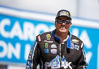 Sep 18, 2016; Concord, NC, USA; NHRA funny car driver John Force during the Carolina Nationals at zMax Dragway. Mandatory Credit: Mark J. Rebilas-USA TODAY Sports