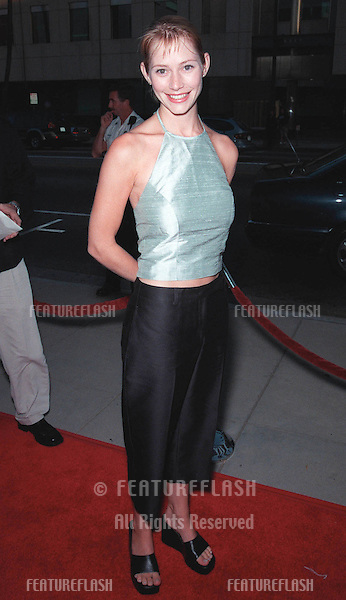 "27JUL99:  ""Dawson's Creek"" star MEREDITH MONROE at the world premiere, in Beverly Hills, of ""The Thomas Crown Affair"" which stars Pierce Brosnan & Rene Russo..© Paul Smith / Featureflash"