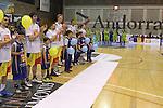 28.03.2014 Andorra la Vella, Andorra. Liga Adecco Oro. Partit entre River Andorra v Planasa Navarra