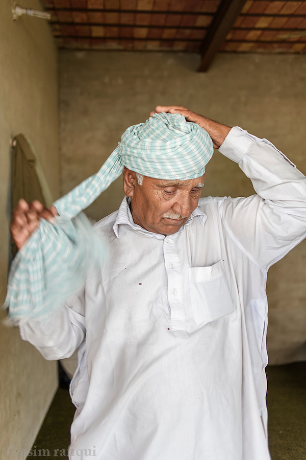 Khair Dir, from Chak 29/2R - a member and participant in the landless peasant movement, he has 'terrorism' warrants against him for his role and participation in the landless movement.